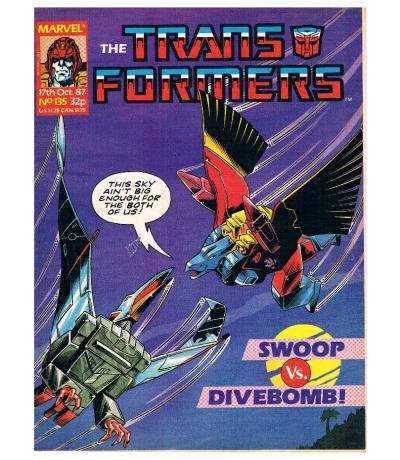 The Transformers - Comic Nr/No 135