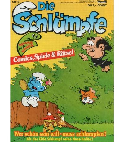 Die Schlümpfe - Comic - Ausgabe