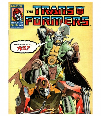 The Transformers - Comic - Generation 1 / G1 - 1987 - Oct. 87 / 133 - Englisch - Transformers