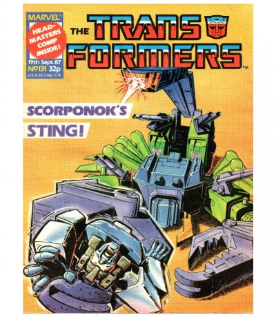 The Transformers Comic Generation G1 Sept