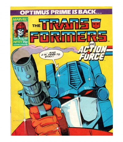The Transformers - Comic - Generation 1 / G1 - 1988 177 - Englisch