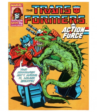 The Transformers - Comic - Generation 1 / G1 - 1988 179 - Englisch