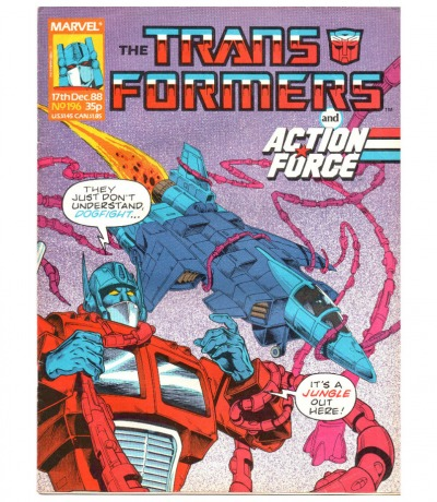 The Transformers - Comic - Generation 1 / G1 - 1988 88 / 196 - Englisch - Transformers