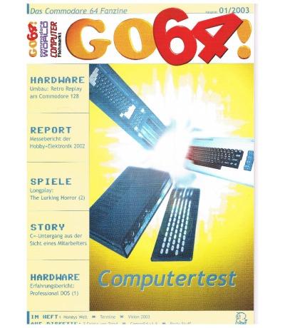 Ausgabe 01/03 - 2003 - GO64
