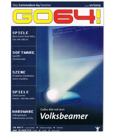 Ausgabe 01/05 - 2005 - GO64