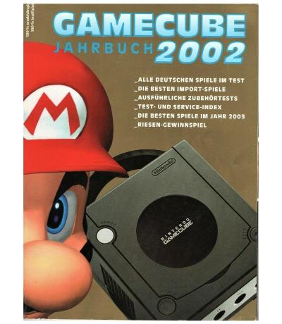 Gamecube Jahrbuch 2002 - Nintendo GC - Super Mario Sunshine Pikmin Turok