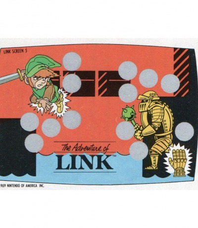 The Legend of Zelda Rubbelkarte Nintendo
