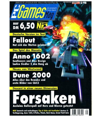 PC Games Mag - Ausgabe 5/98