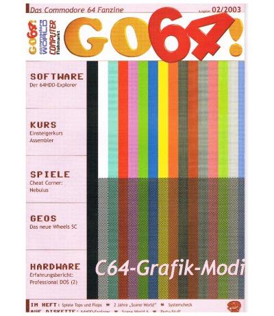 Ausgabe 02/03 - 2003 - GO64