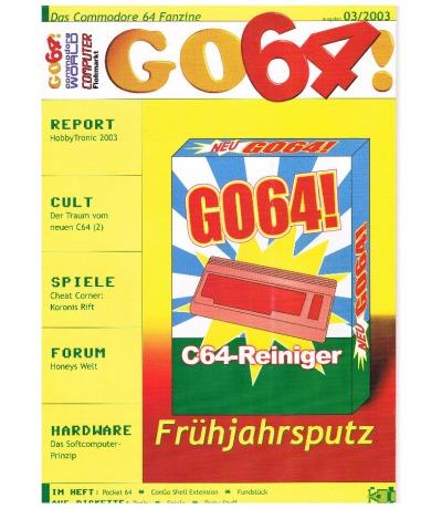 Ausgabe 03/03 - 2003 - GO64