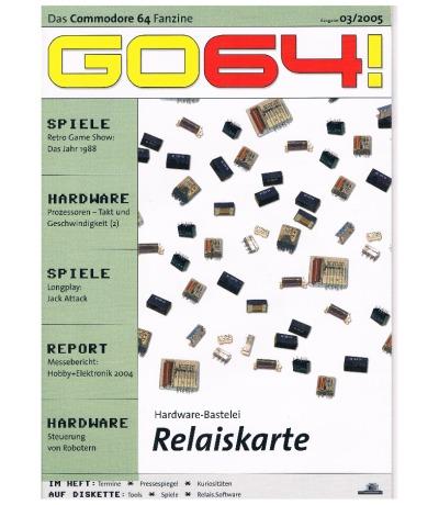 Ausgabe 03/05 - 2005 - GO64