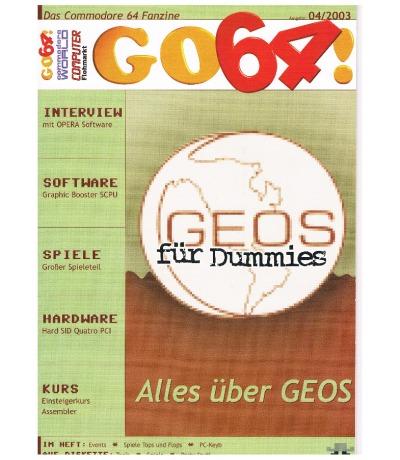 Ausgabe 04/03 - 2003 - GO64
