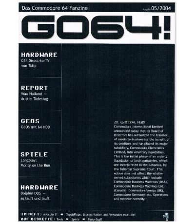 Ausgabe 05/04 - 2004 - GO64