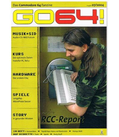 Ausgabe 07/04 - 2004 - GO64