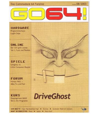 Ausgabe 08/03 - 2003 - GO64