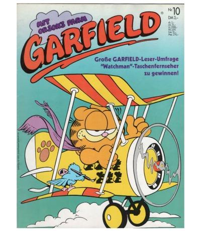 Garfield Comic - Heft Ausgabe 10 1987