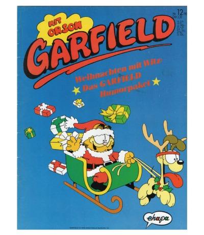 Garfield Comic - Heft Ausgabe 12-90