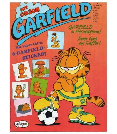 Garfield Comic - Heft Ausgabe 4-91 1991