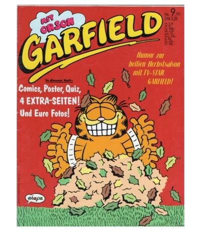 Garfield Comic - Heft Ausgabe 9-91 1991