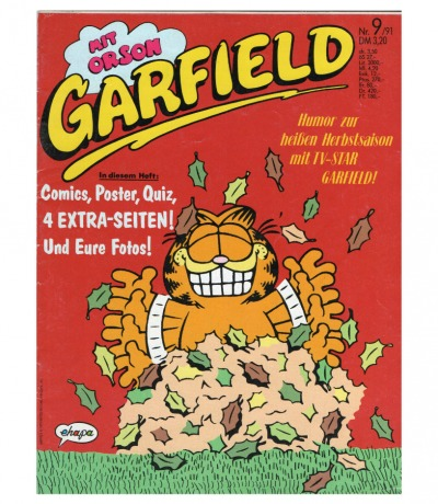 Garfield Comic - Heft Ausgabe 9-91