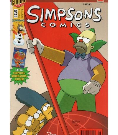 Simpsons Comics Dezember Ausgabe Dino Comics