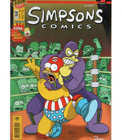 Simpsons Comics - Feb 99 1999 - Ausgabe 28 - Dino Comics
