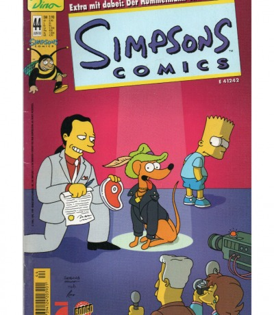 Simpsons Comics - Juni 00 2000 - Ausgabe 44 - Dino Comics