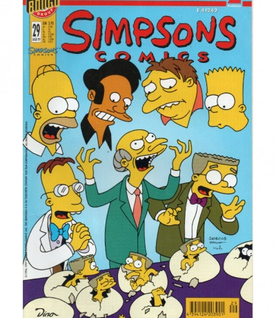Simpsons Comics März Ausgabe Dino Comics