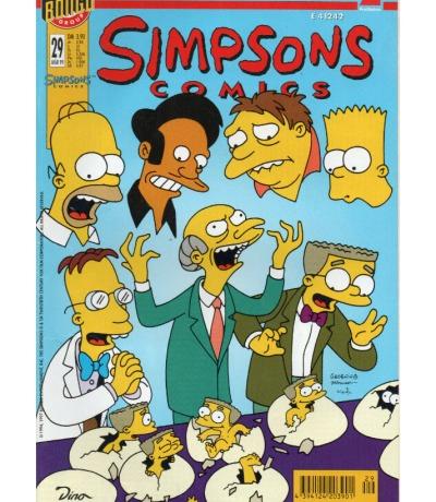 Simpsons Comics - März 99 1999 - Ausgabe 29 - Dino Comics