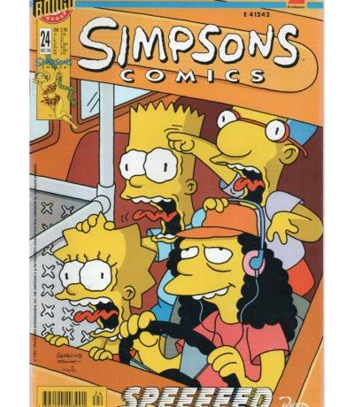 Simpsons Comics - Oktober 98 1998 - Ausgabe 24 - Dino Comics