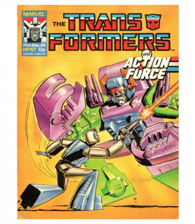 The Transformers Comic Generation G1 Mar
