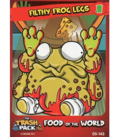 Filthy Frog Legs Food of the