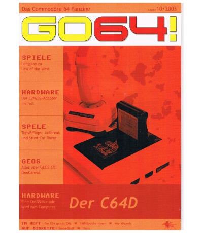 Ausgabe 10/03 - 2003 - GO64
