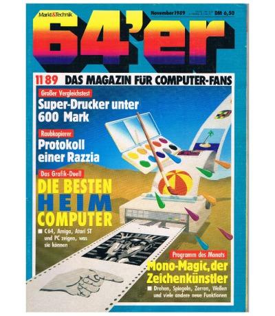 Ausgabe 11/89 1989 - 64er Magazin