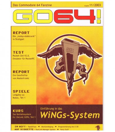 Ausgabe 11/03 - 2003 - GO64