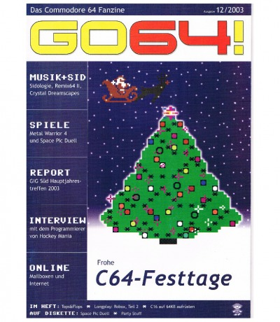 Ausgabe 12/03 - 2003 - GO64