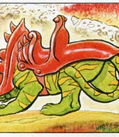 Panini Sticker Nr. 121 - 1983 Filmation He-Man / Masters of the Universe - Battlecat