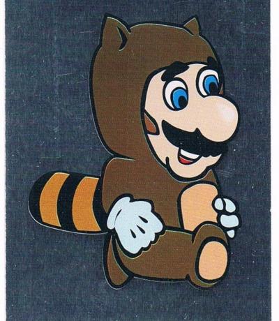 Sticker Nr142 Nintendo Official Sticker Album