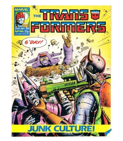 The Transformers - Comic Nr/No 146