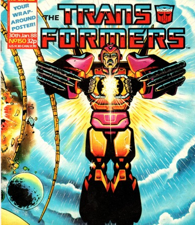 The Transformers - Comic - Generation 1 / G1 - 1988 150 - Englisch - The origin of