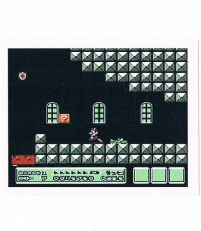 Sticker Nr154 Nintendo Official Sticker Album