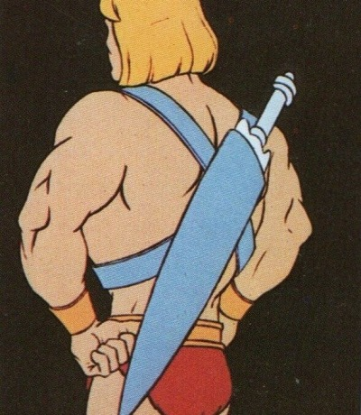 Panini Sticker Nr. 16 - 1983 Filmation He-Man / Masters of the Universe