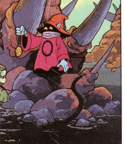 Panini Sticker Nr. 174 - 1983 Filmation He-Man / Masters of the Universe - Orko