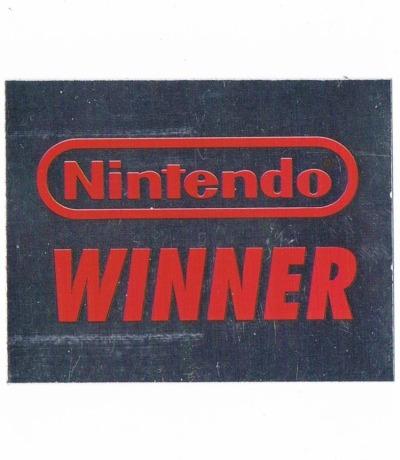 Sticker Nr184 Nintendo Official Sticker Album