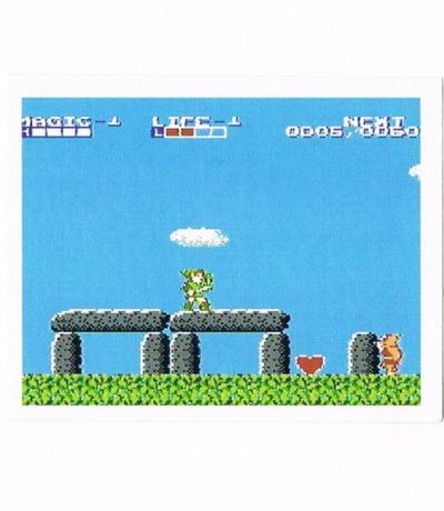 Sticker Nr189 Nintendo Official Sticker Album