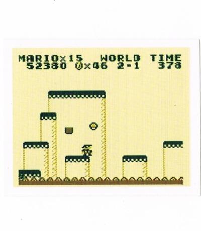 Sticker Nr198 Nintendo Official Sticker Album