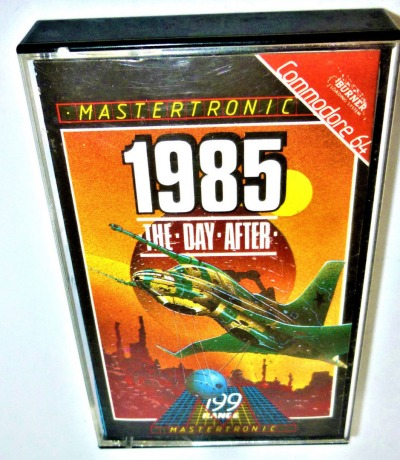 1985 The Day After - Kassette - C64 / Commodore 64