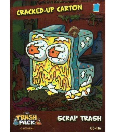 Scrap Trash Cracked-Up Carton The Trash