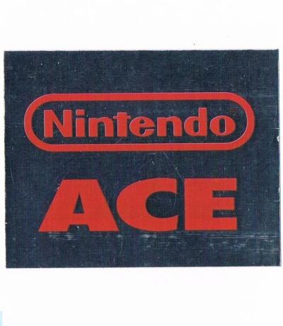 Sticker Nr207 Nintendo Official Sticker Album