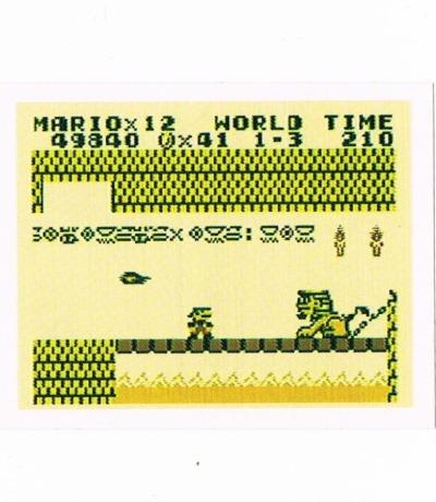 Sticker Nr209 Nintendo Official Sticker Album